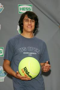 Teddy Geiger at the Arthur Ashe Kid's Day.
