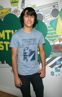 Teddy Geiger at the MTV's Total Request Live.