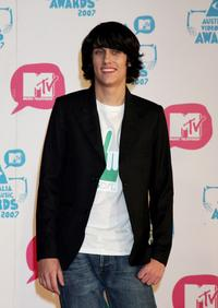 Teddy Geiger at the third annual MTV Australia Video Music Awards 2007.