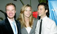 Scott Heim, Sarah Roemer and Joseph Gordon-Levitt at the premiere of