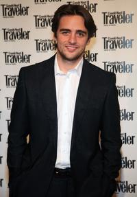 Vincent Piazza at the Conde Nast Traveler Readers' Choice Awards.