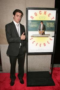Vincent Piazza at the New York premiere of
