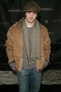 Vincent Piazza at the premiere of