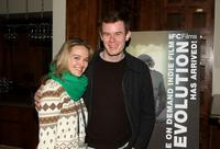 Jess Weixler and Joe Swanberg at the IFC Films 2009 Sundance Breakfast during the 2009 Sundance Film Festival.