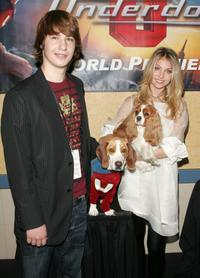Alex Neuberger and Taylor Momsen at the premiere of