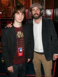 Alex Neuberger and Jason Lee at the after party of the premiere of