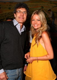 Alan Horn and Anita Briem at the after party of the premiere of