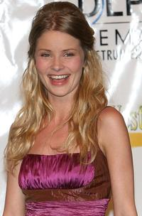 Anita Briem at the ShoWest awards ceremony.