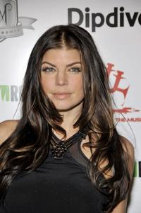 Fergie at the 1st Annual Data Awards.
