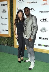 Fergie and Will.i.am at the 1st Annual Data Awards.