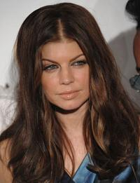 Fergie at the Playboy's Super Saturday party.