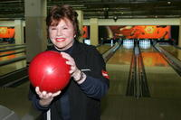 Marsha Mason at the 20th Anniversary of Second Stage Theatre's All Star Bowling Classic.