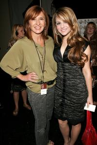 Nicole Miller and Joanna 'Jojo' Levesque Nicole Miller at the Nicole Miller Spring 2007 fashion show during the Olympus Fashion Week..