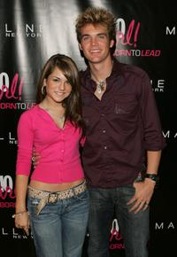 Joanna 'Jojo' Levesque and Tyler Hilton attend the Cosmo Girl! magazine celebration for it's annual Born to Lead awards.