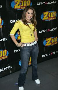 Joanna 'Jojo' Levesque at the Z100 Jingle Ball 2004.