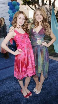 Emma Roberts and Joanna 'Jojo' Levesque at the premiere of 'Aquamarine.'
