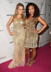 Joanna 'Jojo' Levesque and Ashanti at the