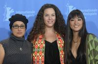 Pilar Guerrero, Claudia Llosa and Magaly Solier at the photocall of