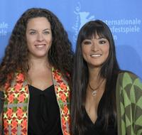 Claudia Llosa and Magaly Solier at the photocall of