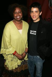 Cynthia McKinney and Ian Inaba at the 2006 Sundance Awards Night.