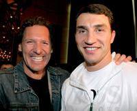 A File photo of Ralf Moeller and Wladimir Klitschko, Dated April 22, 2005.