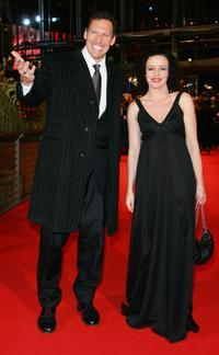 Ralf Moeller and Maria Schrader at the premiere of