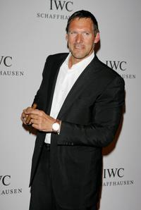 Ralf Moeller at the IWC Da Vinci Launch party.