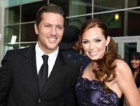 Ross Thomas and Christina Murphy at the premiere of