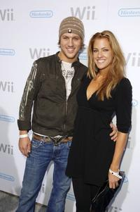 Ross Thomas and Candice at the launch party for the Nintendo