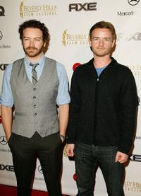 Danny Masterson and Christopher Kennedy Masterson at the Beverly Hills Film Festival Opening Night.