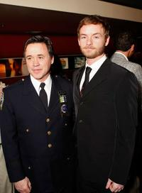 Jay Fagan and Christopher Kennedy Masterson at the NY rescue workers detoxification project charity event.