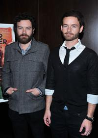 Danny Masterson and Christopher Kennedy Masterson at the premiere of