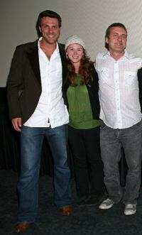 Ryan McCann, Fay Masterson and John Paulsen at the screening of