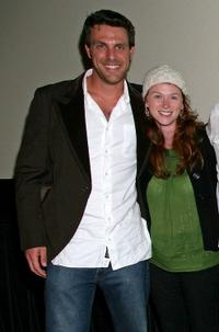 Ryan McCann and Fay Masterson at the screening of
