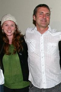 Fay Masterson and John Paulsen at the screening of
