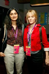 Director Priyanka Kumar and Mary Stuart Masterson at the women's filmmaker brunch during the 2007 Tribeca Film Festival.