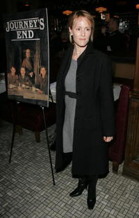 Mary Stuart Masterson at the after party for the opening night of the Broadway play