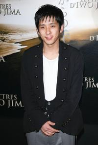 Kazunari Ninomiya at the photocall to promote