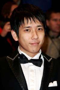 Kazunari Ninomiya at the premiere of