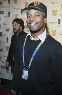 Ty Hodges at the 14th Annual Pan African Film Fest Opening Night Gala.