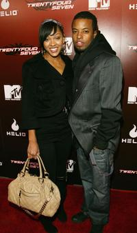 Meagan Good and Ty Hodges at the kick off party for MTV's