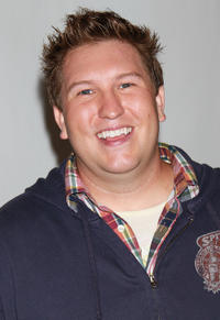 Nate Torrence at the Disney ABC Television Group's 2010 Summer TCA Panel in California.