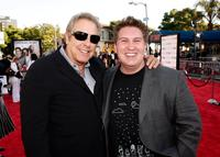 Producer Charles Roven and Nate Torrence at the world premiere of