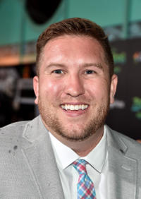 Nate Torrence at the California premiere of