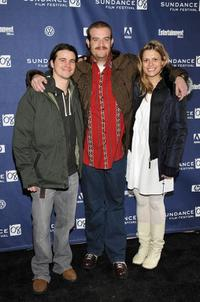Jason Ritter, Eric Edelstein and Marianna Palka at the premiere of