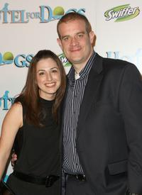 Eric Edelstein and Guest at the premiere of