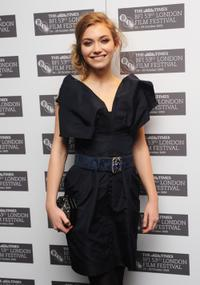 Imogen Poots at the premiere of