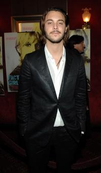 Jack Huston at the premiere of