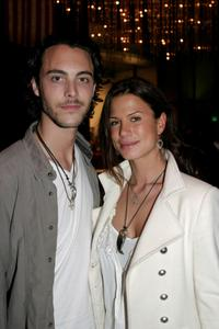 Jack Huston and Rhona Mitra at the world premiere of