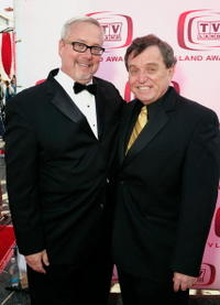 Larry Jones and Jerry Mathers at the 6th Annual TV Land Awards.